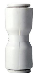 10 Pz Unión Recta Para Osmosis Inversa 3/8 X 3/8