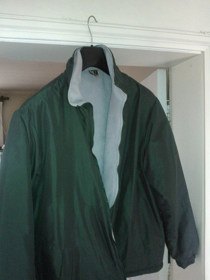 Casaca Impermeable Polar Color Verde
