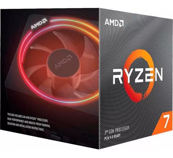 Procesador Ryzen 7 3700x (4.4ghz Turbo) Am4 8 Core Amd