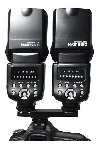 Titular Ttl Luz Flash Speedlite Suporte Divisor Para Canon M