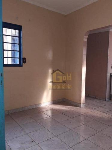Casa Com 3 Dormitórios À Venda, 89 M² Por R$ 200.000 - Sumarezinho - Ribeirão Preto/sp - Ca1147
