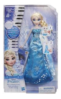 Muñeca Elsa Frozen Hasbro Disney Vestido Musical