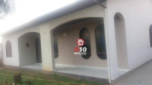 Casa Averbada Com 3 Dormitórios À Venda, 200 M² Por R$ 380.000 - Mãe Luzia - Criciúma/sc - Ca1729