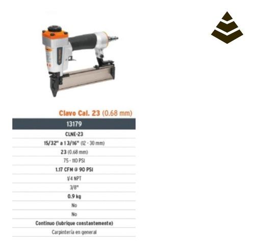 Clavadora Neumatica 15/32 A 1.3/16 Calibre 23 Truper 13179
