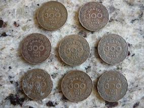 Moeda 300 Réis 1942 Verso Getúlio Vargas- Cod.07/10/17-851