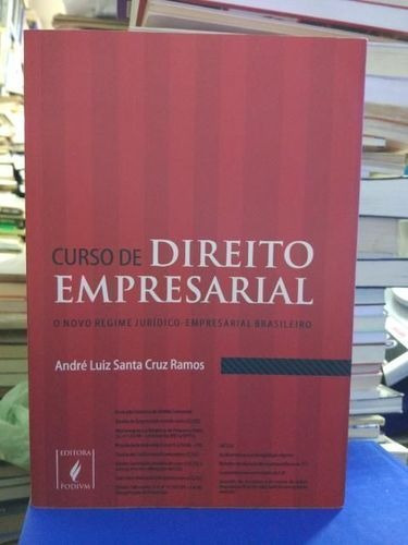Curso De Direito Empresarial Andre Luiz Santa Cruz Ramos