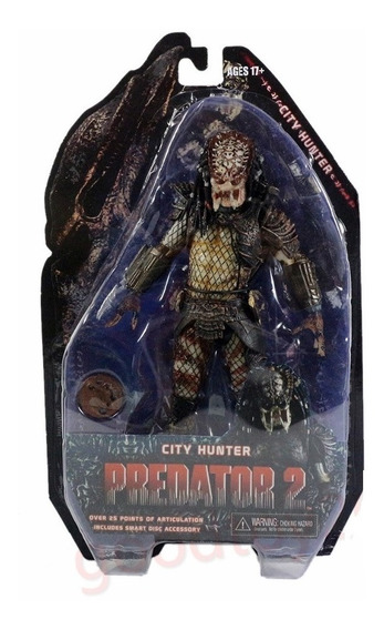 Action Figure Predador 2 City Hunter Articulado