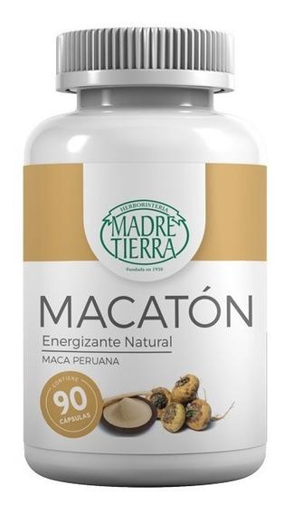 Maca Peruana En Capsulas Macaton - Madre Tierra 90 Caps