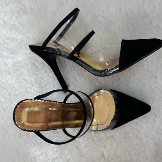 Sapatos Femininos Tamancos Transparencia