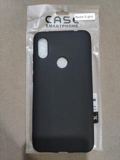 Capa Case Silicone Fosco Xiaomi Redmi Note 6 Pro