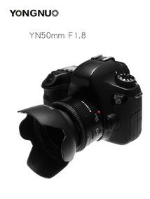 Lente Ef 50mm F1.8 Yongnuo Para Canon + Tampas