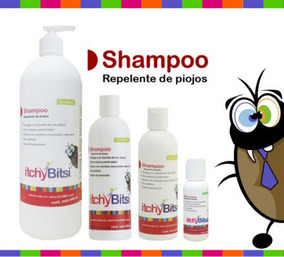 Itchybitsi Shampoo 355 Ml Repelente De Piojos