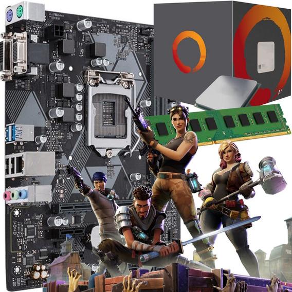 Combo Actualizacion Gamer Amd Ryzen 5 2600 + B450 + 8gb 12c