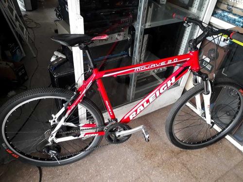Bicicleta Raleigh Mojave 2.0 Rod.26 Con 21 Velocidades