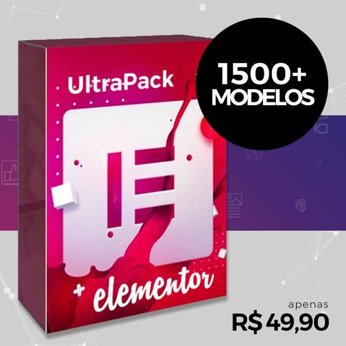 Imagem 1 de 5 de Ultrapack Inédito Para Elementor