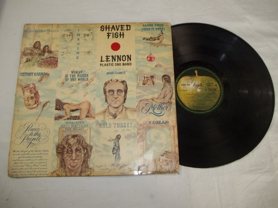 Lp Vinil - John Lennon Plastic Ono Band - Shaved Fish