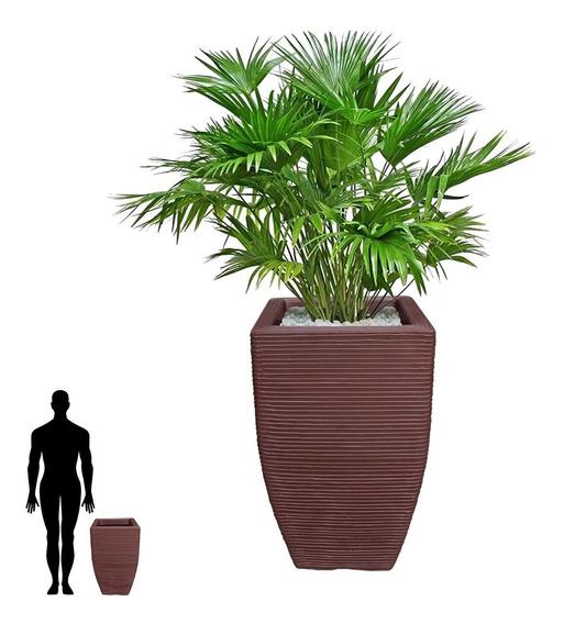 1 Vaso P/ Decorar Casa Sala De Estar Quarto Jardim T 60x38