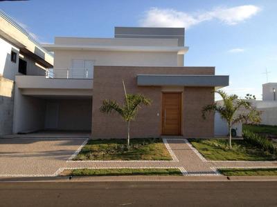 Casa Residencial À Venda, Condomínio Villa Lobos, Paulínia. - Ca0427
