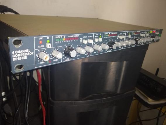 Bss 404 Dpr Compressor De Audio 4 Canais