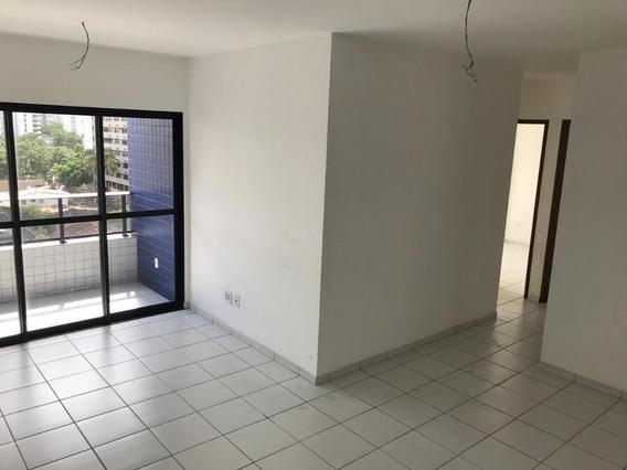 Apartamento Em Torre, Recife/pe De 86m² 3 Quartos Para Locação R$ 1.500,00/mes - Ap549851