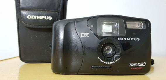 Câmera Fotográfica Olympus Dx Trip Xb3 Coleção