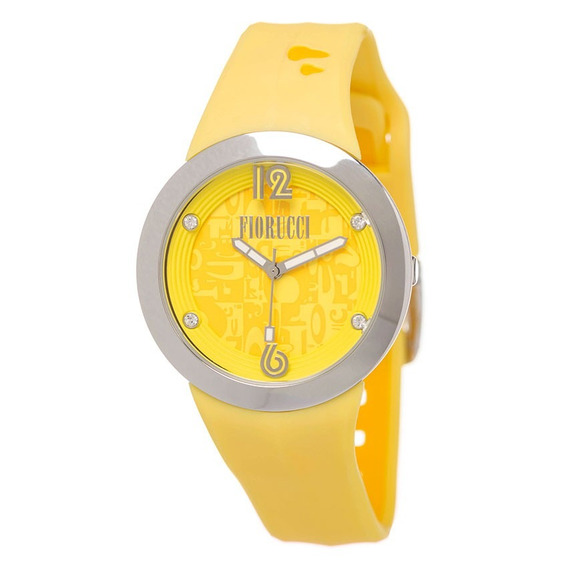 Reloj Fiorucci Sumergible Fr0605 Movimiento Japones, Dama-am