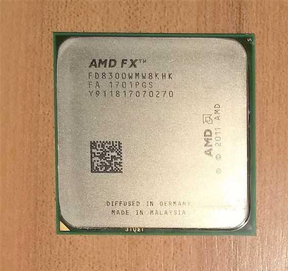 Processador Amd Fx8300 Black, 3.3ghz, Octa Core Am3 Am3+
