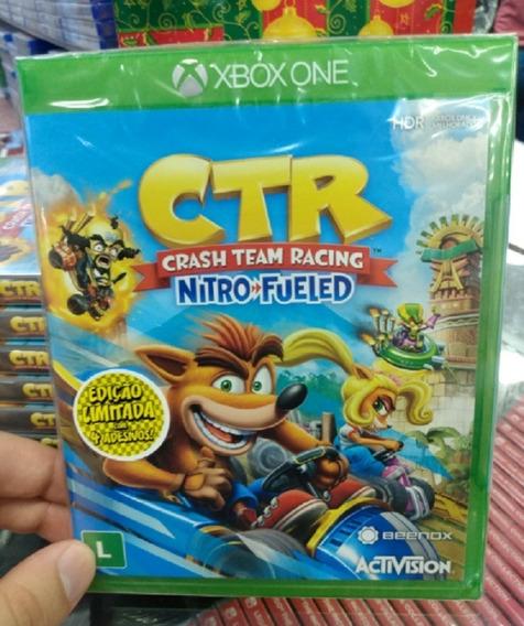Crash Team Racing Xbox One Mídia Física Lacrado Novo