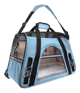 Mochila Bolsa De Mascotas Transportadora Perro Gato Premium Mascotas Viajes Seguro Cómodo Descanso * Fácil De Limpiar *