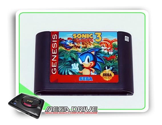 Sonic The Hedgehog 3 Repro Sega Mega Drive - Salva
