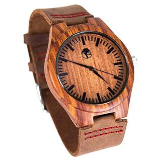 Viable Harvest Reloj De Madera Mena