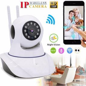 Camera Ip Robo P2p Visão Noturna Wireless Wifi Sem Fio 1080p