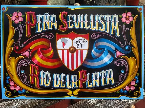 Fileteado Porteño Carteles Personalizados Artesanales