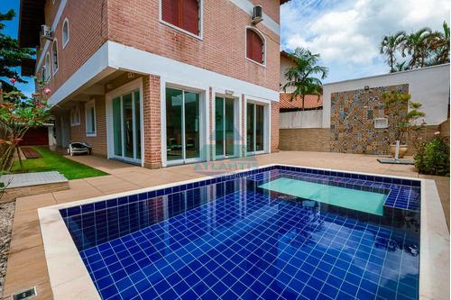 Casa Com 5 Dorms, Condomínio Lagoinha, Ubatuba - R$ 1.6 Mi, Cod: 1222 - V1222