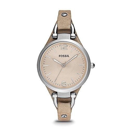 Reloj Fossil Es2830 Georgia De Acero Inoxidable Para Mujer C