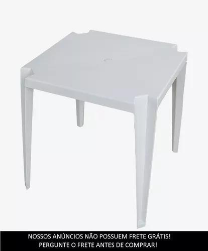 Mesa Plastica Rei Do Plastico / Goyana