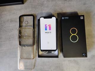 Xiaomi Mi 8 6gb Ram 128gb Armazenamento (azul)