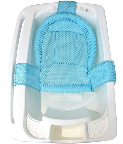 Rede De Proteção Para Banho Baby Azul Full