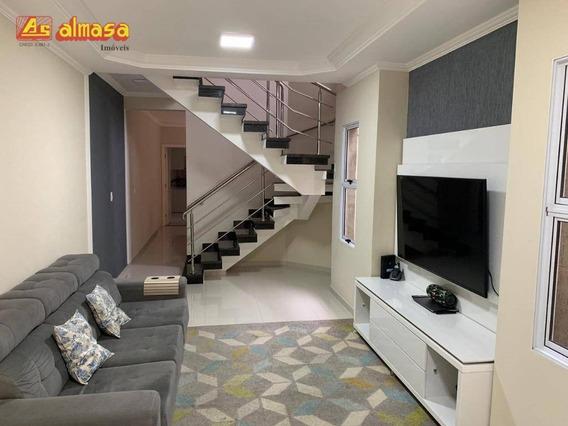 Sobrado Com 3 Dormitórios À Venda, 170 M² Por R$ 840.000,00 - Vila Augusta - Guarulhos/sp - So0158