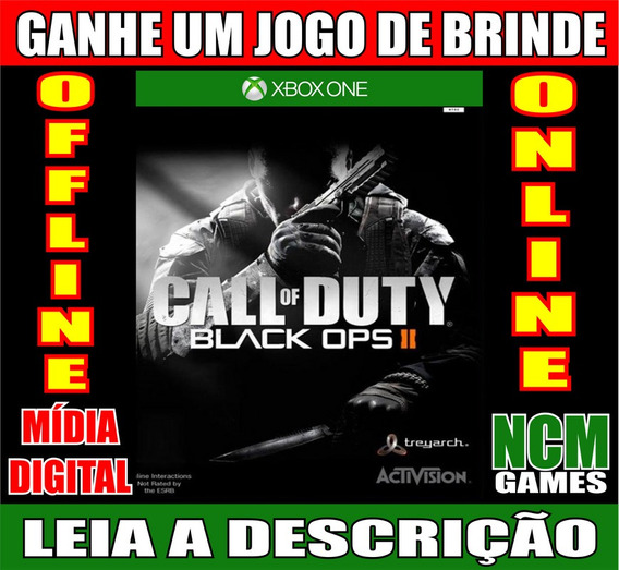 Call Of Duty Black Ops Ii Xbox One + Brinde