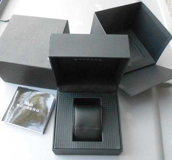 Estuche Original Caja De Reloj Bomberg Con Manual