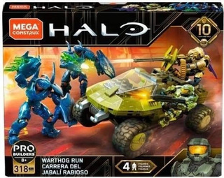 Halo Mega Construx 10 Anniversary Warthog Run Jabali