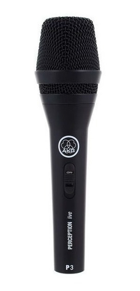 Microfone Akg Perception P3 S Dinâmico Profissional