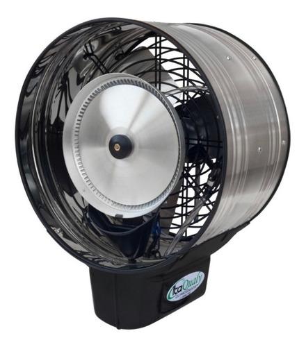 Ventilador Oscilante De Parede C/ Climatizador Névoa Água