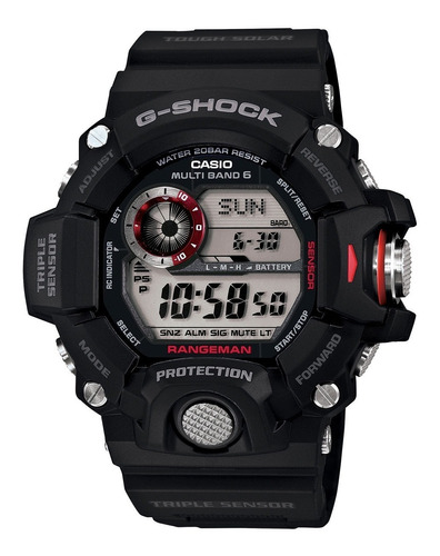Relógio  Casio G-shock Gw9400-1a  Rangeman Solar