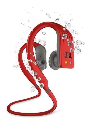 Fone De Ouvido Jbl Endurance Dive Bluetooth Vermelho / Cinza