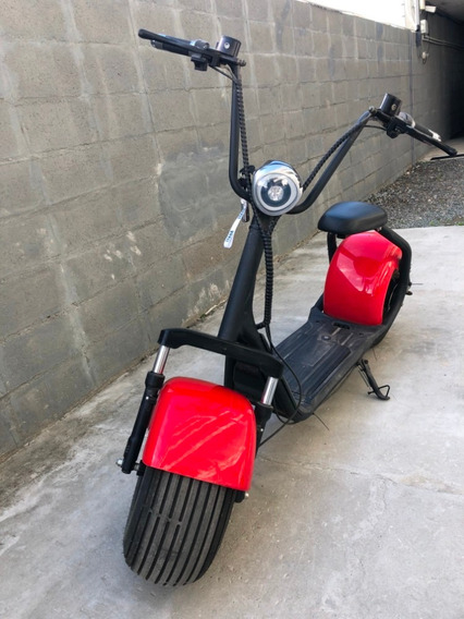 Moto Eléctrica Chopper Pro, Batería De 20ah Extraíble