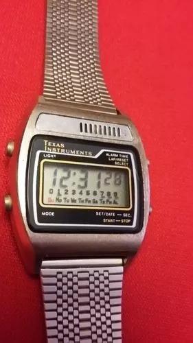 Reloj De Pulsera Vintage Texas Instruments