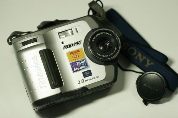 Lote De Cameras Sony Samsung Mavica Mais Acessórios