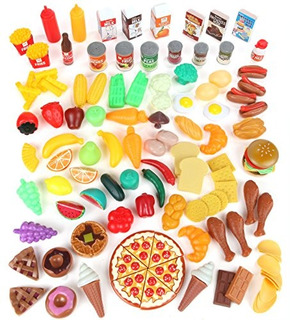 Juegue Set De Alimentos Para Ninos - Juguete Para Juegos De